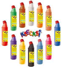 12 x 900g. KLECKSI Fingerfarben Malfarben - Farben frei wählbar - (4,50€/1kg)