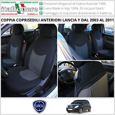 Coppia COPRISEDILI ANTERIORI Lancia YPSILON Y 3 Porte dal 2003 al 2011 Fodere