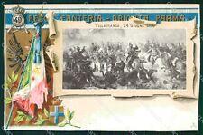 Militari Reggimentali 49º Reggimento Fanteria Villafranca 1918 cartolina XF4994