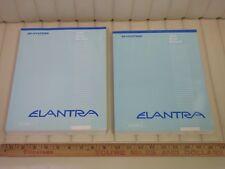 1995 HYUNDAI ELANTRA Factory Shop Service Manual Set 2-Volume