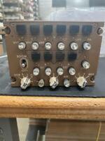 Original Delta 747-400 Audio Control Panel from Flight Deck