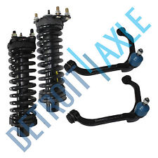 4pc Front Struts & Upper Control Arms 2002 2003 2004 2005 2006 2007 Jeep Liberty