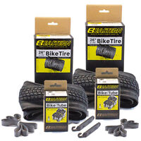 Eastern Bikes Premium Replacement 26 x 1.95 Inch Tire and Tube Kit with Tools