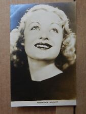 Film Weekly Film star postcard Constance Bennett postcard sized photo Original.
