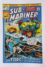 Two issue reading lot 1972-73 Marvel Comics: Sub-Mariner #55, 60 Everett Mooney