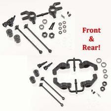 Tekno RC M6 Front & Rear Driveshaft/Steering Block/Hub Carriers 6mm Slash 4x4