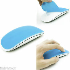 SKIN COVER PROTETTIVA IN SILICONE AZZURRA PER MAGIC MOUSE MACBOOK PRO AIR IMAC