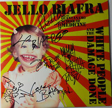 "SIGNED JELLO BIAFRA AND THE GUANTANAMO SCHOOL OF MEDICINE 12"" LP AUTOGRAPHED"