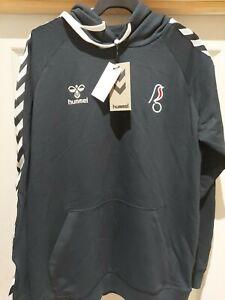 Hummel Bristol City Hooded Travel Sweatshirt Size M BNWT