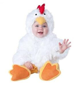Chicken Halloween Baby Costumes Dress Animal White Suit Outfit Girl / Boy Unisex
