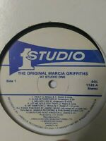 Marcia Griffiths ‎– At Studio One Vinyl LP 1980
