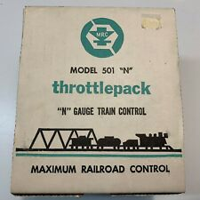 MRC Model 501N  Throttlepack - N Gauge Train Control -Made in USA