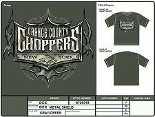 Orange County Choppers METAL SHIELD T-shirt OCC Authentic Licensed Wholesale XL