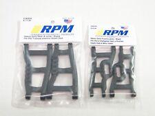 NUOVO RPM Braccio Anteriore E SET NERO 80242 80592 Traxxas Slash VXL RAPTOR