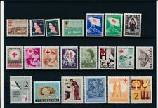 D097750 Yugoslavia Red Cross Nice selection of MNH stamps