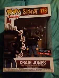 Exclusive Funko POP! ROCKS Slipknot - Craig Jones #178