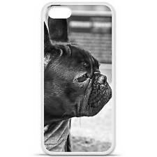 Coque housse étui tpu gel motif bulldog Iphone 5 / 5S