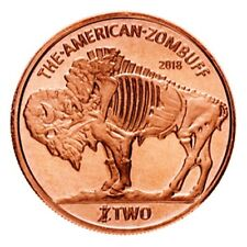 AVDP 1 oz Zombucks™ Zombuff .999 pure Copper Round