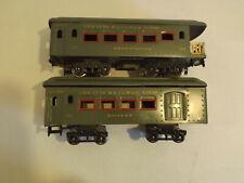Ives standard gauge passenger set - green