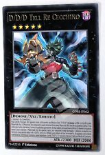 Yugioh CORE-IT052 1x D/D/D TELL RE CECCHINO Rara