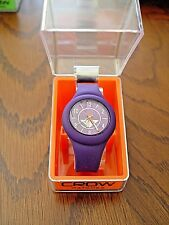 New Crow The Prospect Silicone Watch (Purple)