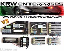 82 PONTIAC FIREBIRD KNIGHT RIDER KITT 2TV DASH ELECTRONICS COMPLETE SET NEW 2.0