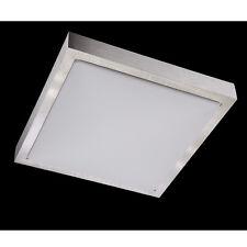Wofi LED Deckenleuchte MILA 1-flg Alu gebürstet Lampe 12 Watt 850 Lumen Bad