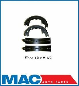 Rear New Brake Shoes 12 x 2 1/2 Dodge Ford 357
