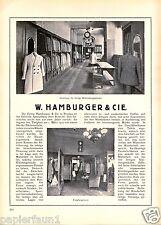 Fashion House Hamburger Wroclaw Advertising 1923 Fashion Advertising Clothes Wroclaw AD