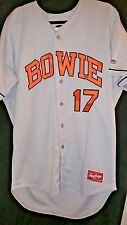 baltimore orioles dylan bundy signed game used bowie baysox gray jersey