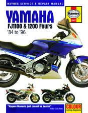 1984-1996 Yamaha FJ 1100 1200 FJ1100 FJ1200 HAYNES REPAIR MANUAL 2057