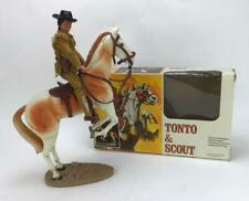 Vintage Collectible 1973 The Lone Ranger - Tonto & Scout Action Figures with box