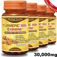#1 TURMERIC CURCUMIN CAPSULES PURE 95% CURCUMINOID LONGA LINN PILLS ANTIOXIDANT