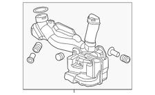 Genuine Honda Chamber Assembly Resonator 17230-R1B-A00