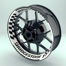 "Felgenaufkleber Felgenrandaufkleber Premium Wheelsticker ""Bridgestone V1"""