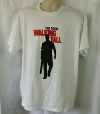 Walking Tall 2004 Dwayne Johnson Johnny Knoxville Movie Promo T-Shirt Size XL