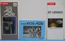 Canon A2E Film SLR Camera User's Manual