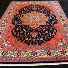 Orient Teppich Dunkelblau 326 x 252 cm Perserteppich Alt Old Oriental Carpet Rug