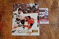 Bobby Orr Boston Bruins Hockey Autographed Signed Photo JSA Authenticated w/ COA