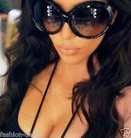 Sunglasses OVERSIZED Round Circle SHIELD Large Lens Women Ali Celebrity XXL MASK