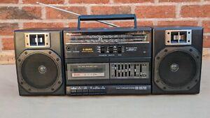 Panasonic RX-CS700 Boombox 5 Band AM/FM Cassette Portable Stereo Ghetto Blaster