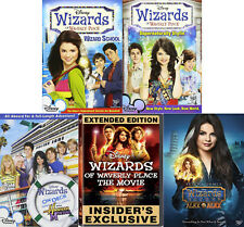 Wizards of Waverly Place Disney Series Complete Movie Collection NEW DVD SETS
