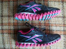Reebok Mens Size 5.5 (EUR 37) Zignano Pink Waffle Bottom Running Shoes JB7445