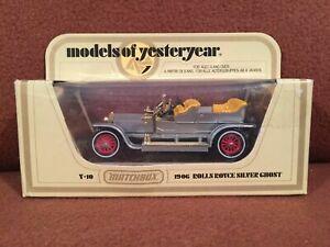 MATCHBOX MODELS OF YESTERYEAR  MIB RARE VINTAGE DIECAST MAN TOY CARS TRUCKS VANS