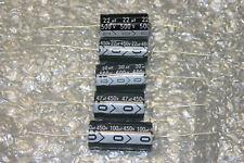 Axial Electrolytic Capacitors HI Temp 105C 22uf 30uF 47uF 100uF 450V 500V 600V