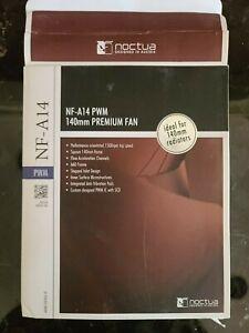 Noctua NF-A14 PWN 140mm Premium Fan Open Box Brown/beige Square Quiet