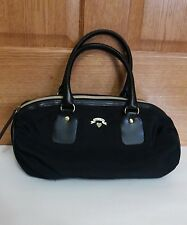 Victoria's Secret  Black Shoulder Handbag Purse Zip Closure