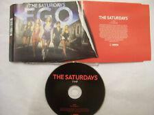 THE SATURDAYS Ego – 2010 UK CD – Synth-Pop – BARGAIN!