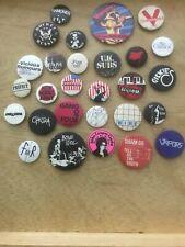Various punk badges - original