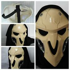 Resin Mask Cosplay Costume Prop For Video Game Overwatch Reaper